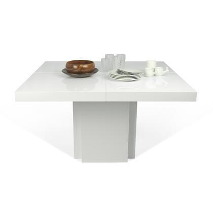 Tema Home Dusk 9500612619 Dining Room Table White, 5603449612619.MAIN