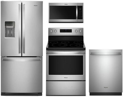 Whirlpool  992055 Kitchen Appliance Package Stainless Steel, main image
