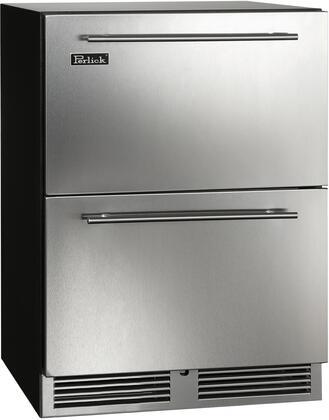 Perlick C Series HC24RB45L Drawer Refrigerator Stainless Steel, Main Image