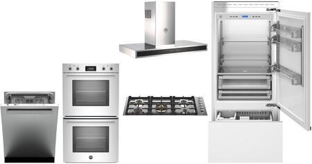 Bertazzoni  975806 Kitchen Appliance Package Panel Ready, main image