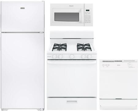 Hotpoint 890772 Kitchen Appliance Package & Bundle White, main image