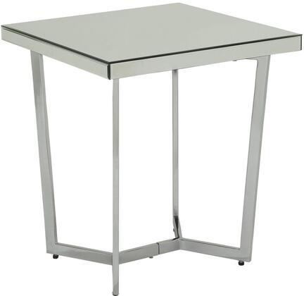 Acme Furniture Hastin 80982 End Table Silver, End Table