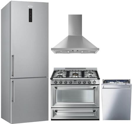 Smeg 1054383 Kitchen Appliance Package & Bundle Stainless Steel, main image