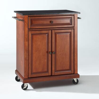 Crosley Furniture Compact Kitchen KF30024ECH Kitchen Cart Brown, KF30024ECH W1