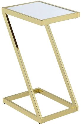 Acme Furniture Laina 81821 Accent Table Gold, 1