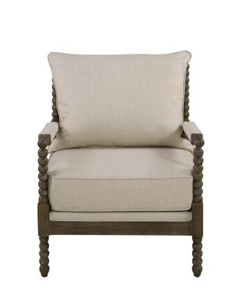 Coaster  905362 Accent Chair Beige, Main Image