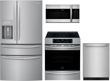 Frigidaire 1125327 Kitchen Appliance Package & Bundle Stainless Steel, main image