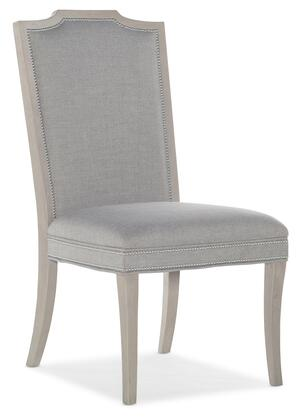 Hooker Furniture Reverie 57957541195 Dining Room Chair Gray, Silo Image