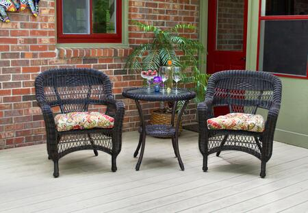 Tortuga Portside PSBIS3DKHALIW Outdoor Patio Set Multi Colored, PSBIS3DKHALIW Main Image
