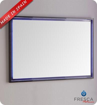 Fresca Platinum Due FPMR7848CB Mirror Blue, Main Image