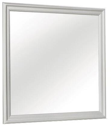 Global Furniture USA Marley MARLEYSILVERMR Mirror Silver, Main Image