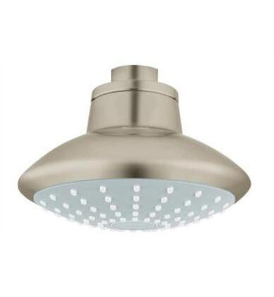 Euphoria 110 27810001 2.0 GPM Mono Shower Head 1 Spray  in Brushed
