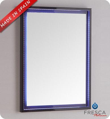 Fresca Platinum Due FPMR7824CB Mirror Blue, Main Image