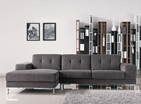 VIG Furniture Divani Casa Forli VGMB1071BGRYX Sectional Sofa Gray, 1