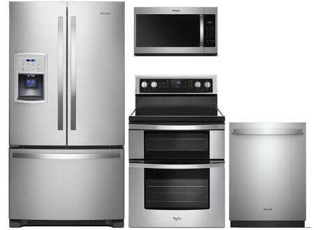 Whirlpool  991759 Kitchen Appliance Package Stainless Steel, main image