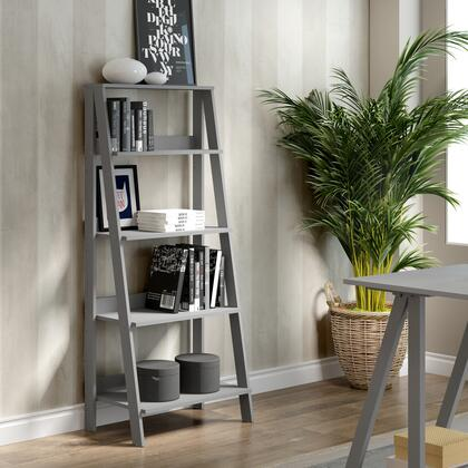 Walker Edison  BS55LDGY Bookcase , BS55LDGY live
