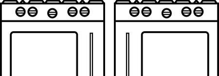 BlueStar  SWINGDOORBOTH Oven Door Styles , Double Side Doors