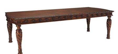 Millennium North Shore D55335 Dining Room Table Brown, Main Image