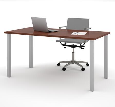 Bestar Furniture BESTAR 6586539 Office Desk Brown, Image 1