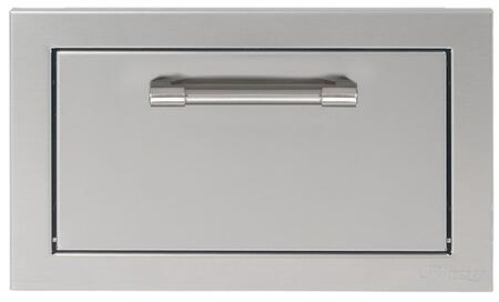 Alfresco AXETH Storage Drawer Stainless Steel, AXETH Front View