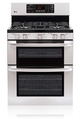 LG LDG3016ST Freestanding Convection Range (Gas and Electric) Stainless Steel, 1