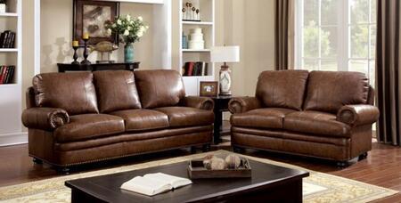 Furniture of America Reinhardt CM6318SL Living Room Set Brown, main image