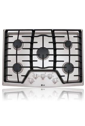 LG  LCG3011ST Gas Cooktop Stainless Steel, 1