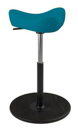 Varier Move Small MOVESMALL2700FAME67004BLKMEBLK Office Stool, Main Image