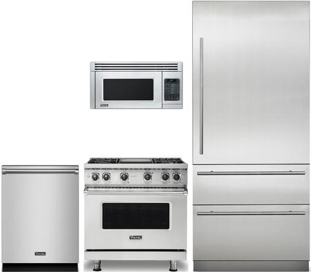 Viking 874371 Kitchen Appliance Package & Bundle Stainless Steel, main image
