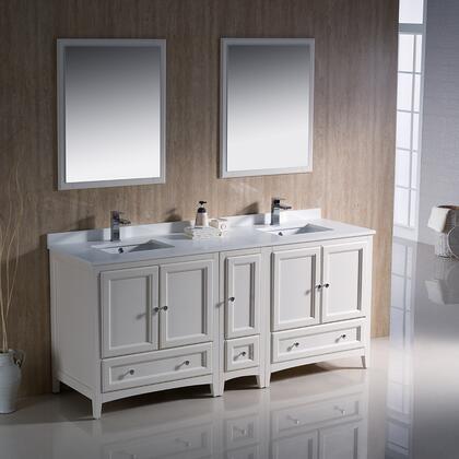 Fresca Oxford FVN20301230AW Sink Vanity White, Image 2