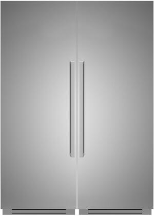 Bertazzoni  1309185 Column Refrigerator & Freezer Set Stainless Steel, 1
