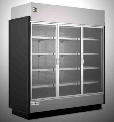 Hydra-Kool  KGVMD3S Display and Merchandising Refrigerator Black, KGVMD3S High Volume Grab-N-Go Case