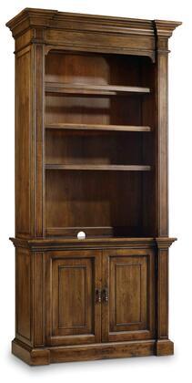 Hooker Furniture Archivist 544710446 Bookcase Brown, Main Image
