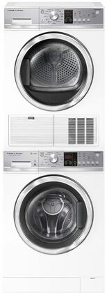 Fisher Paykel  916446 Washer & Dryer Set White, 1