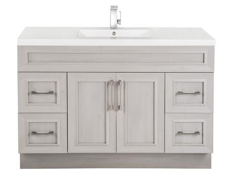 Cutler Kitchen and Bath Classic CCMCTR48SBT Sink Vanity White, Main Image