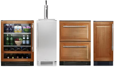 True Residential 1140271 Kitchen Appliance Package & Bundle Panel Ready, main image