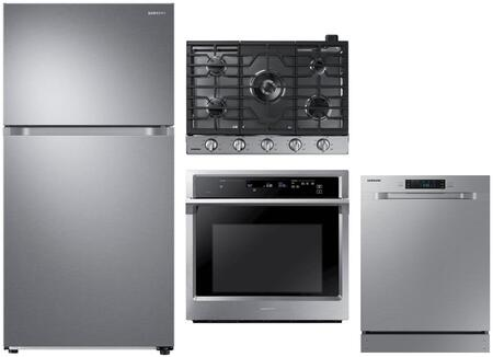 Samsung  1011188 Kitchen Appliance Package Stainless Steel, Main image