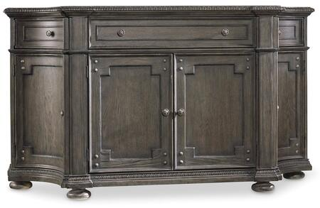 Hooker Furniture Vintage West 570075900 Dining Room Buffet Gray, Main Image