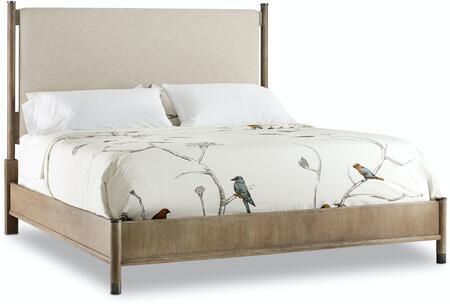 Hooker Furniture Affinity 605090950GRY Bed Beige, Silo Image