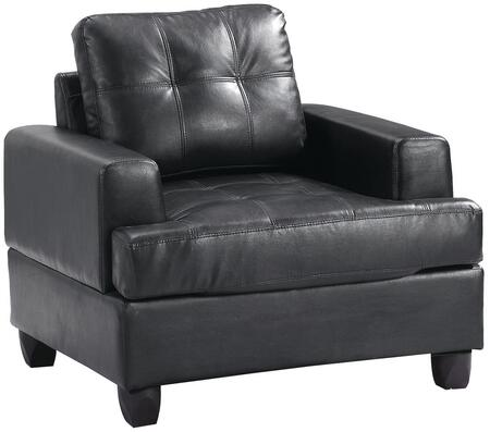 Glory Furniture Sandridge G583AC Living Room Chair Black, 1
