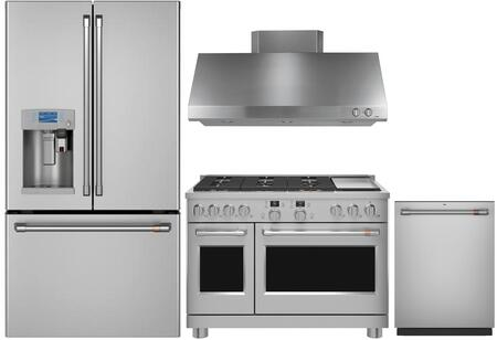 Cafe 1054624 Kitchen Appliance Package & Bundle Stainless Steel, main image