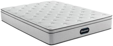 BR800 Series 700810005-1070 California King Size 12″ Plush Eurotop Mattress with DualCool Technology  Plush Pocketed Coils and Gel Memory Foam with