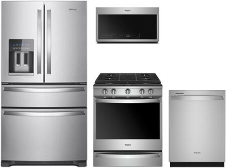 Whirlpool  902890 Kitchen Appliance Package Stainless Steel, 9