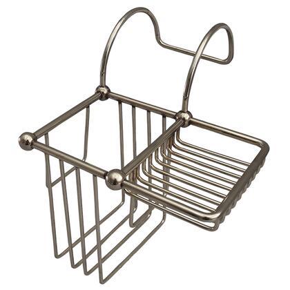 Barclay  BC2004PN Shower Baskets Silver, BC2004 PN
