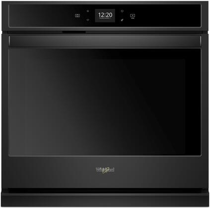 Whirlpool  WOS51EC0HB Single Wall Oven Black, Main Image