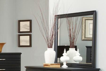 Carolina Furniture Platinum 506400 Mirror Black, Main Image
