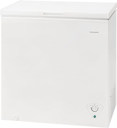 Frigidaire FFCS0722AW Chest Freezer White, Front View