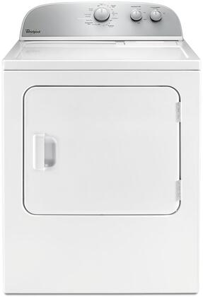Whirlpool WED4985EW 5.9 Cu. Ft. White Electric Dryer