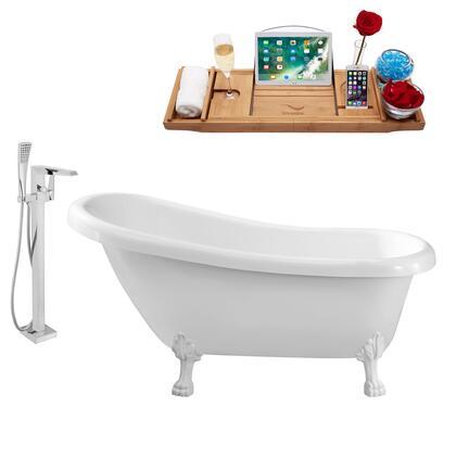 Streamline NH480WH100 Bath Tub, NH480WH 100 1T