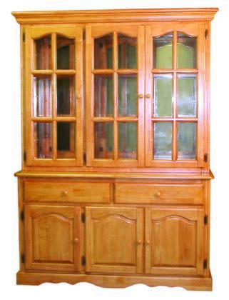 Sunset Trading Sunset Oak Selections DLU22BHLO China Cabinet Brown, Main Image